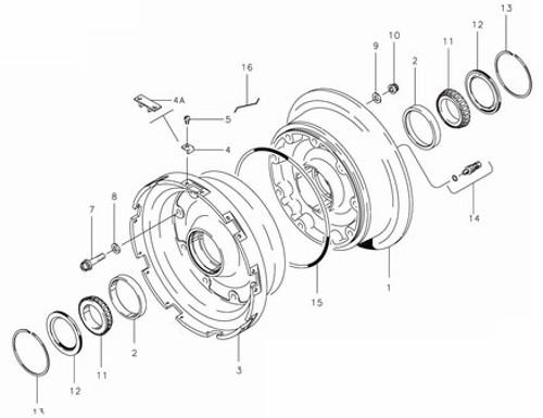 Cleveland Wheel & Brake 40-276 Wheel Assembly