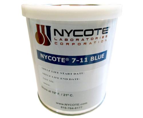 Nycote® 7-11BL-QT Blue Liquid Nylon Varnish - Quart Can