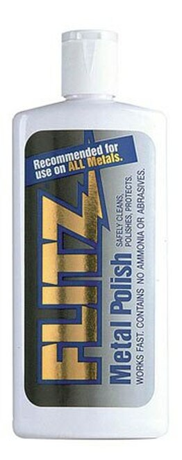 FLITZ LQ 04530 Metal, Plastic & Fiberglass Liquid Polish - 32.1 oz Bottle