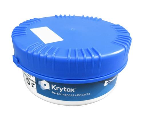 Chemours™ Krytox™ GPL 206 White PTFE Thickened Standard General-Purpose Grease - 0.5 Kg Jar