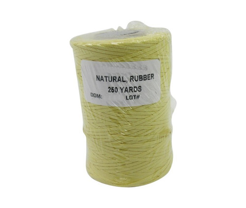 Military Specification A-A-52084-C-2 Natural DFAS Compliant Nomex®/Synthetic Rubber Finish Tape, Lacing & Tying Cord - 250 Yard Spool