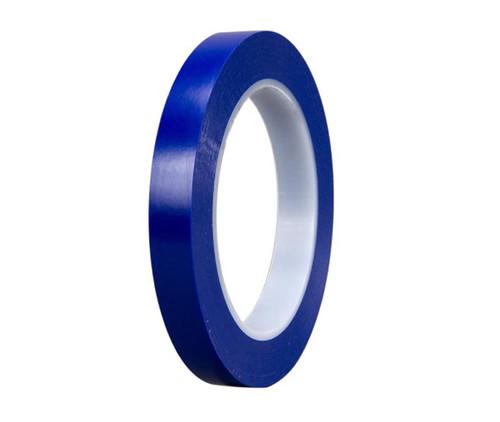 """3M™ 021200-03119 Blue 471 Vinyl 5.2 Mil Tape - 1/2"""" x 36 Yard Roll"""