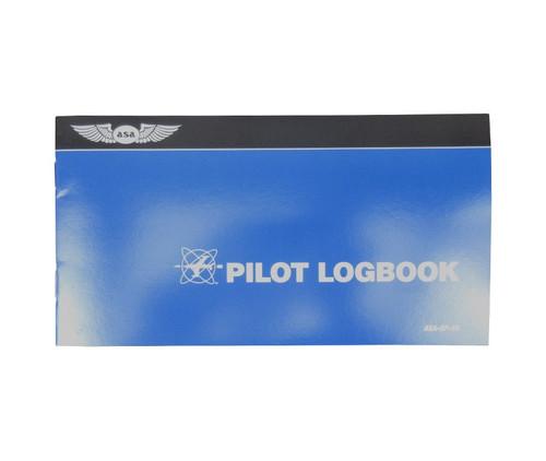 Aviation Supplies & Academics ASA-SP-10 Blue The Standard™ Softcover Pilot Log Book