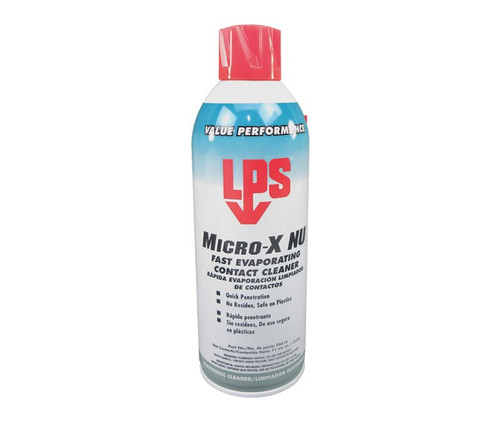 LPS® 06616 Micro-X NU Fast Evaporating Contact Cleaner - 11 oz Aerosol Can