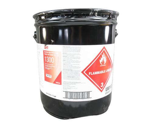 3M™ 021200-19877 Scotch-Weld™ 1300 Yellow Neoprene High Performance Rubber & Gasket Adhesive - 5 Gallon Pail
