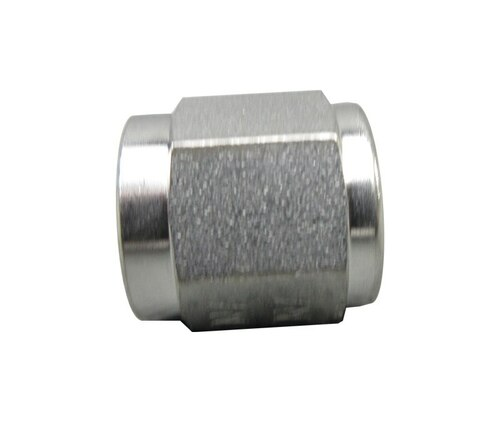 Aeronautical Standard AN818-4J Stainless Steel Nut, Tube Coupling