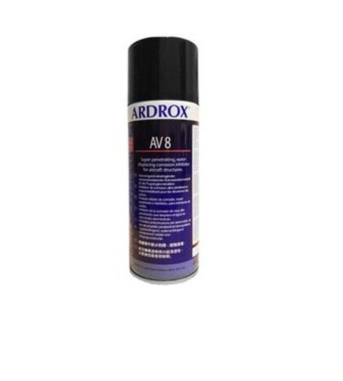Chemetall ARDROX® AV 8 Brown MIL-PRF-16173E Class 1, Grade 1 & 4 Spec Corrosion Inhibiting Compound - 400 mL Aerosol Can