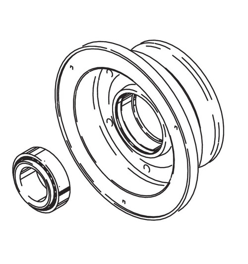 Cleveland Wheel & Brake 162-08702 Outer Wheel Half Aseembly