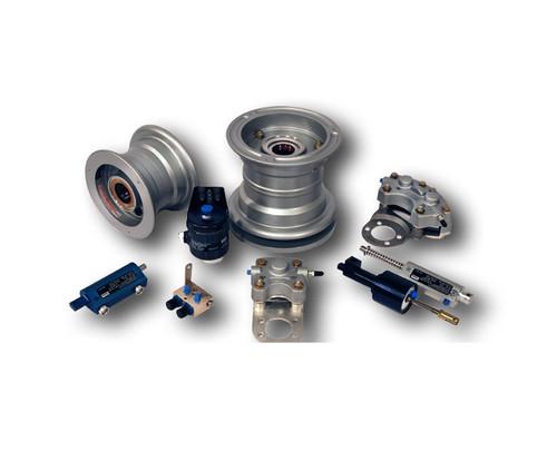 Cleveland Wheel & Brake 162-13700 Outer Wheel Half Assembly