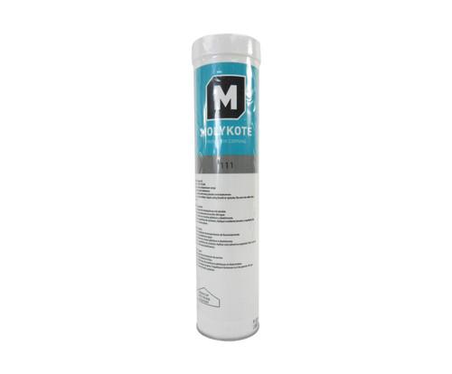 Dupont™ 4109803 MOLYKOTE® 111 Translucent White Valve Silicone Lubricant & Sealant - 400 Gram (14 oz) Cartridge