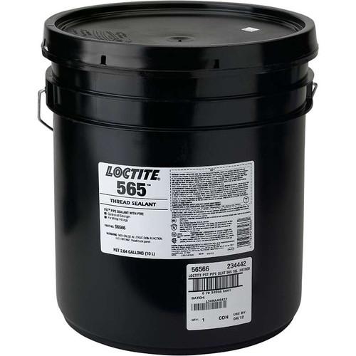 Henkel 56566 LOCTITE® 565™ Off-White Thread Sealant - 10 Liter (2.64 gallon) Pail