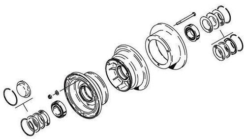 Cleveland Wheel & Brake 40-97D Wheel Assembly