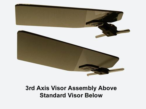 Rosen 2000000-1 Textron Cessna 500 Citation I 3-Axis NSA Rosen Sunvisor System Visor Assembly