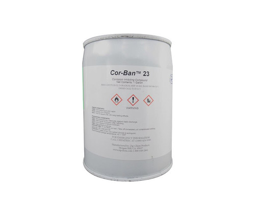 Zip-Chem® 009401 Cor-Ban® 23 Red-Brown Dyed Corrosion Preventive Compound - Gallon Can