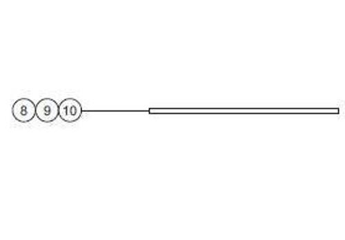 WHELEN® 38-0250429-00 Model A467A RFI Shielded Gasket