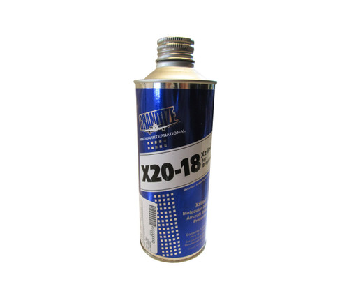 GRANITIZE™ Aviation X20-18 AECI 3 Colorless Brightwork Aircraft Exterior Protector - 437 ml (16 fl oz) Metal Can