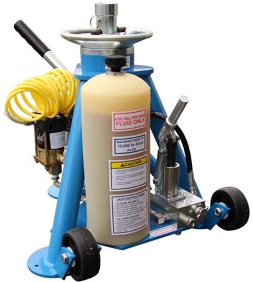 Tronair® 02-0520C0111-A1 Blue 5-Ton Hydraulic Tripod Jack (CE)