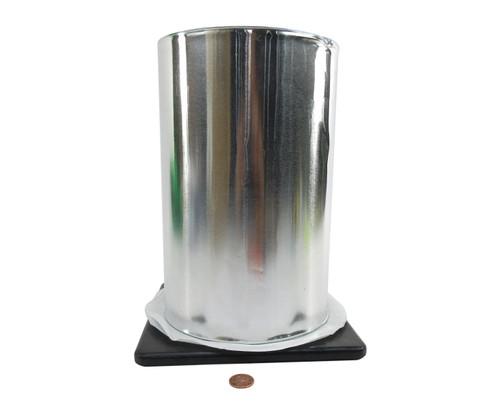 "3M™ 051138-95381 Silver 434 Vibration 7.5 Mil Damping Aluminum Foil Tape - 10"" x 60 Yard Roll"