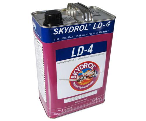 Eastman™ Skydrol® LD-4 Purple BMS3-11P, Type V, Grade B & C Spec Fire Resistant Hydraulic Fluid - 3.81 Kg (Gallon) Can