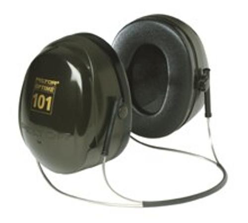 3M™ H7A-PTL PELTOR™ Optime™ 101 Green/Black 27 db Over-the-Head Earmuff