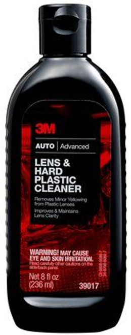 3M™ 051131-39017 Car Care™ Brown Lens & Hard Plastic Cleaner - 236 mL (8 oz) Squeeze Bottle