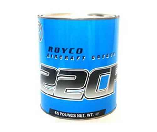 ROYCO® 22CF Brown MIL-PRF-81322G Spec General Purpose Synthetic Grease - 6.5 lb Steel Can