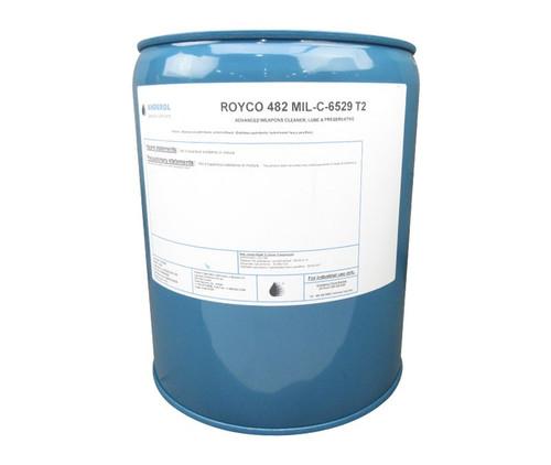 ROYCO® 482 Amber MIL-C-6529C2, Type II Spec Corrosion Preventative Oil - 5 Gallon Steel Pail