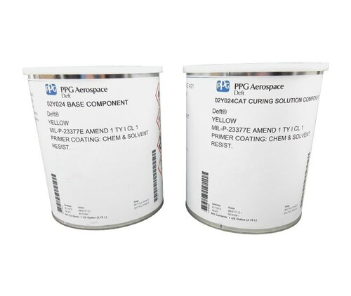 PPG Aerospace® Deft® 02-Y-024 Yellow MIL-PRF-23377E Type I, Class C1 Epoxy Primer - Gallon Kit