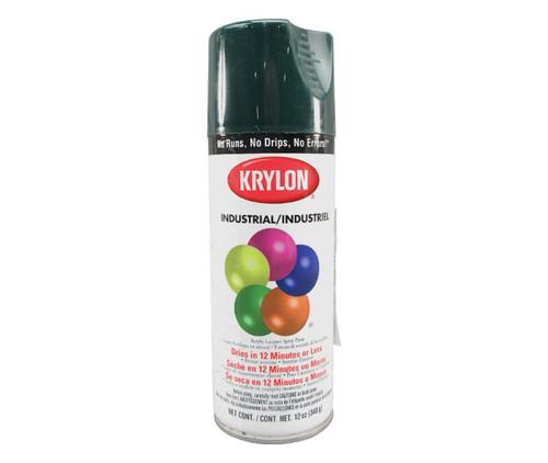 KRYLON® K02001 Industrial ACRYLI-QUIK™ Hunter Green Acrylic Lacquer Paint - 340 Gram (12 oz) Aerosol Can
