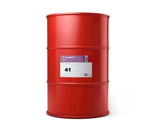 AeroShell™ Fluid 41 Mineral Aircraft Hydraulic Fluid - 55 Gallon Drum