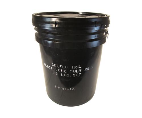 SULFO Plastilube Moly 3 High-Temperature Grease - 35 Lb Pail