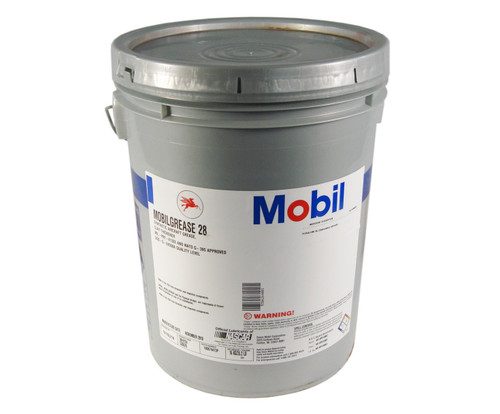 Mobilgrease™ 28 Red MIL-PRF-81322G Spec Synthetic Aircraft Grease - 35 lb Pail
