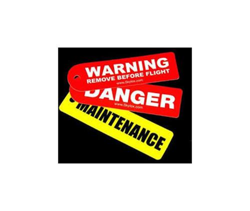 """Skylox 296050004 Skytag """"Remove Before Flight"""" Warning Tag"""