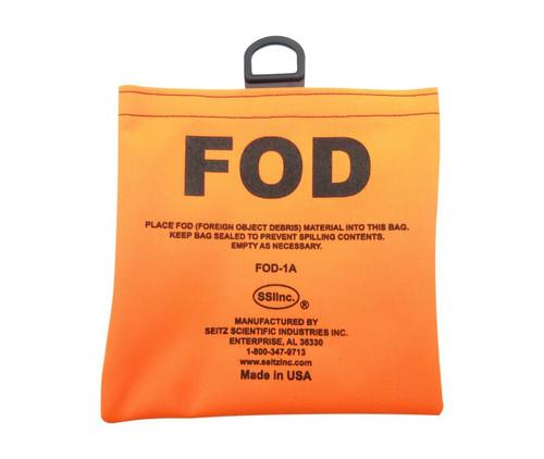 Seitz Scientific FOD-1A Fluorescent Orange FOD Bag with Belt Loops