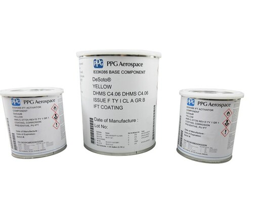 PPG Aerospace® DeSoto® 833K086 Yellow AMS-C-27725D/MIL-C-27725B/DHMS C4.06F/DMS1850H Spec Integral Fuel Tank Coating - 1.5 Gallon Kit