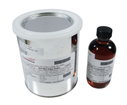 Goodrich 74-451-K Edge Sealer for Black Estane® Pneumatic De-Icers - Quart Kit
