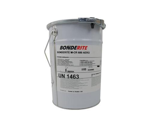 """Henkel 598459 BONDERITE® M-CR 600™ AERO """"Powder Form"""" Light Metals Conversion Coating - 10 lb Can"""
