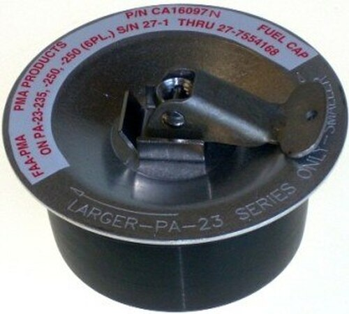 PMA Products CA16097N FAA-PMA Piper PA-23-235 & PA-23-250 Fuel Tank Cap Assembly