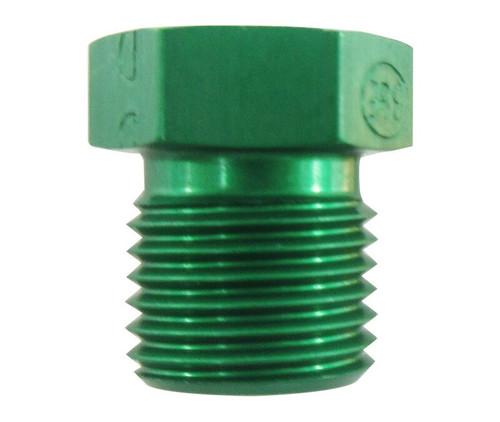 Military Standard MS21913D5 Aluminum Plug, Tube Fitting, Threaded