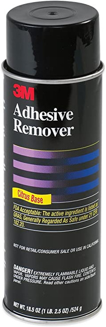 3M™ 021200-49048 Yellow Citrus Base 6041 Adhesive Remover - 524 Gram (18.5 oz) Aerosol Can