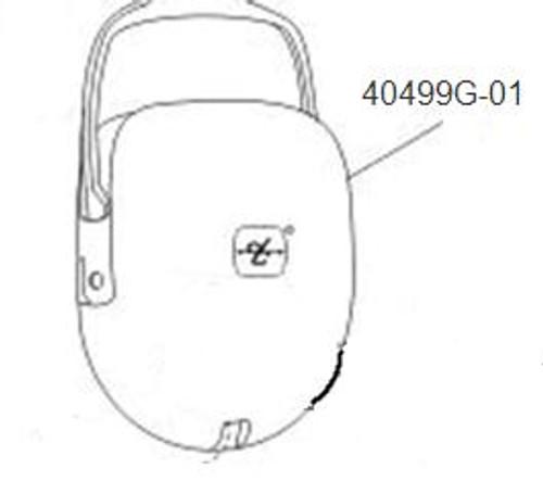 David Clark 40499G-01 Dome, Stamped LH