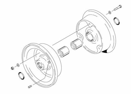 Cleveland Wheel & Brake 40-103A Wheel Assembly