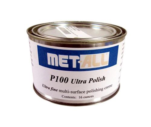 Met-All P100 Ultra Polish - 16 oz Can