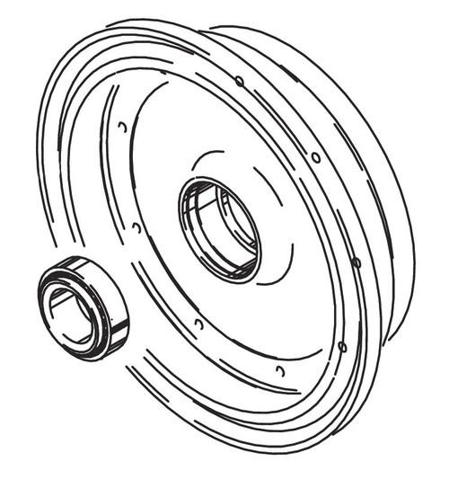 Cleveland Wheel & Brake 162-11800 Outer Wheel Half Assembly
