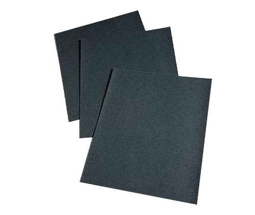 "3M™ 051131-02023 Wetordry™ 431Q Black 1500 Grit 9"" X 11"" Abrasive Sheet - 50 Sheet/Carton"