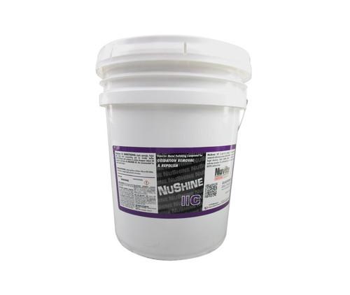 Nuvite PC220650LB Nushine II Grade C Oxidation Removal & Repolish Metal Polishing Compound - 50 lb Pail