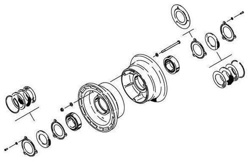 Cleveland Wheel & Brake 40-76B Wheel Assembly