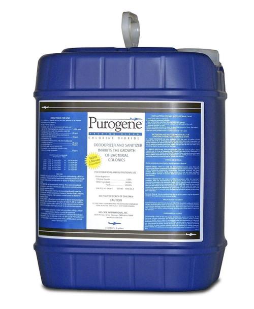 Purogene® 40020 Clear Potable Water Treatment & Tank Disinfectant - 5 Gallon Pail