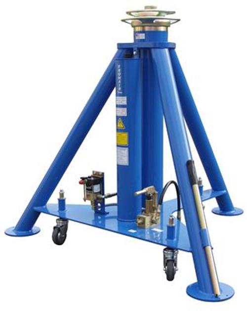 Tronair® 02A7843C0112 Blue Hydraulic Main Jack with Air Pump (25 ton/22.7 metric ton) (CE)