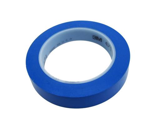 """3M™ 021200-03120 Blue 471 Vinyl 5.2 Mil Tape - 3/4"""" x 36 Yard Roll"""